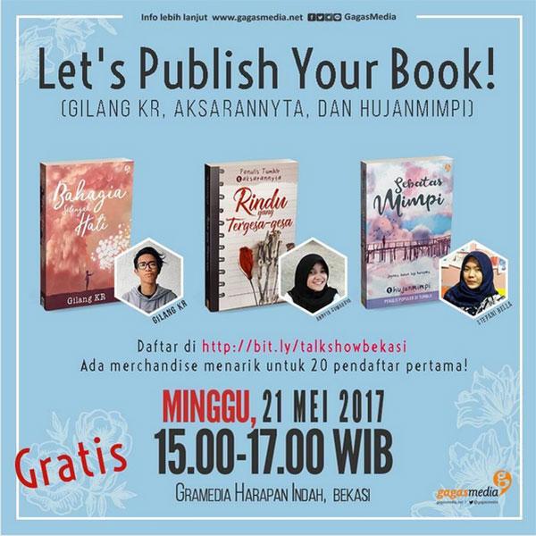 lets publish your book 21 Mei 2017