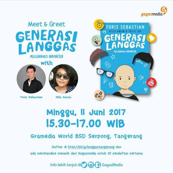 meet greet generasi langgas 11 Juni 2017