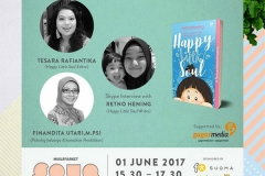talkshow Happy Little soul 1 Juni 2017