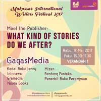 Gagas hadir di MMakassar International-Writers-Festival-2017