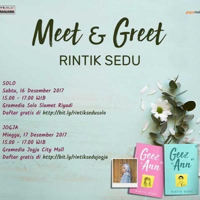 Meet & Greet Rintik Sedu Solo & Jogja