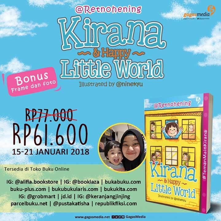 eflyer PO-2 reguler Kirana Happy Little World