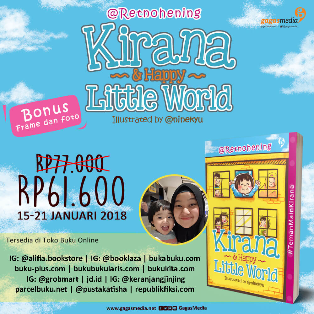 eflyer PO 2 Kirana & Happy Little World