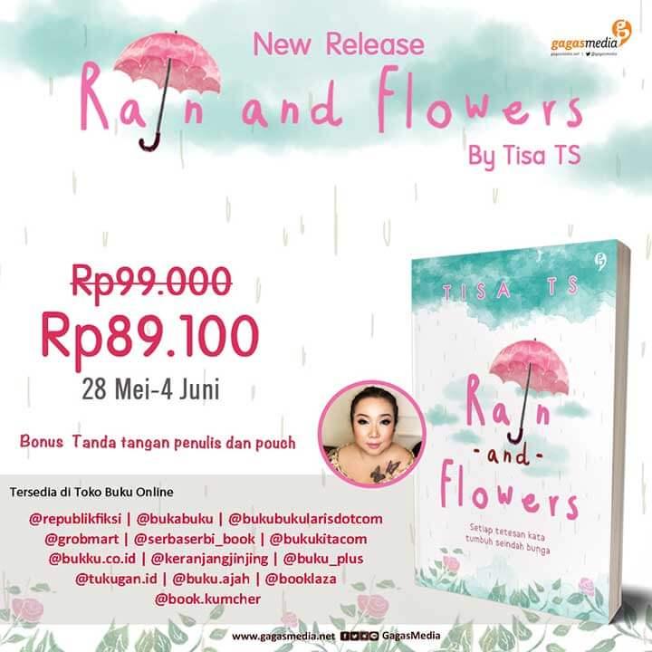 Rain And Flower Nama Toko Buku