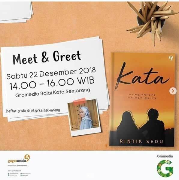 Meet & Greet bersama Rintik Sedu