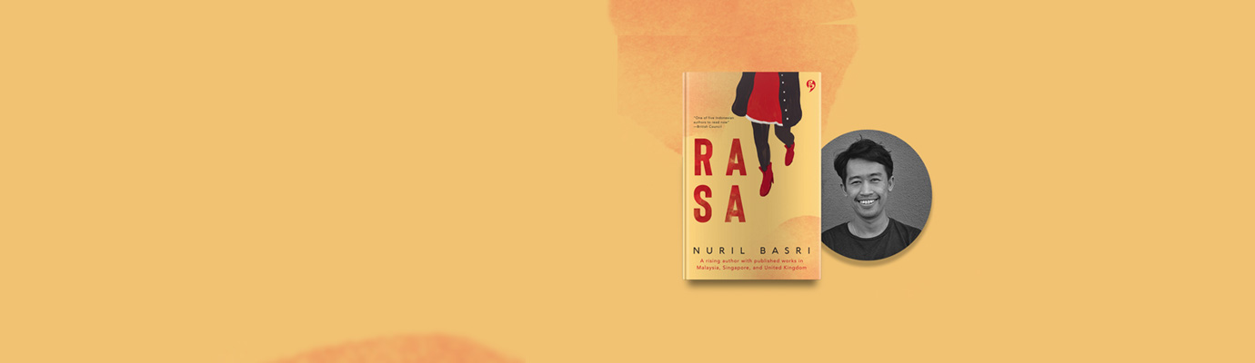 tanya penulis nuril basri, novel rasa