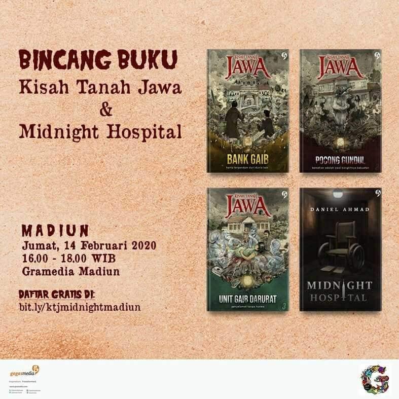 bincang-buku-kisah-tanah-jawa-&-midnight-hospital