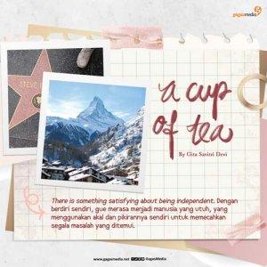 a cup of tea by gita savitri devi