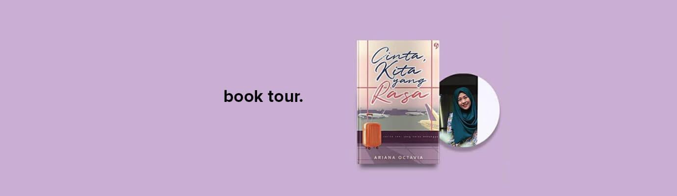 book tour cinta kita yang rasa